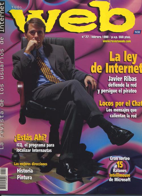 Portada revista Web