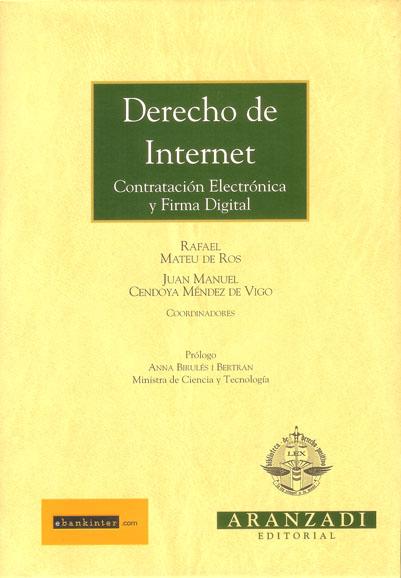Derecho de Internet - Varios autores