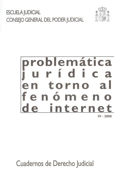 Problemática jurídica de Internet - Varios autores