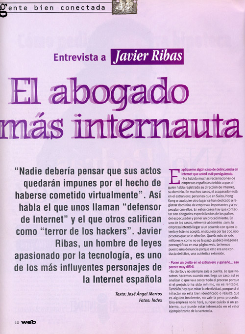 Revista Web - Página 1